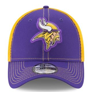 Adult New Era Minnesota Vikings 39THIRTY Fan Mesh Flex-Fit Cap