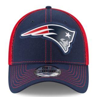 Adult New Era New EnglandPatriots 39THIRTY Fan Mesh Flex-Fit Cap