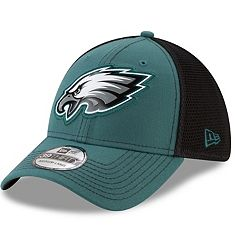 Adult New Era Philadelphia Eagles 39THIRTY Fan Mesh Flex-Fit Cap