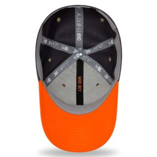 Adult New Era Cincinnati Bengals Sideline Home Graphite 39THIRTY Flex-Fit Cap