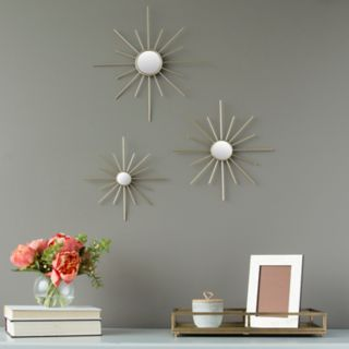 Stratton Home Decor Mirror Wall Decor 3-piece Set