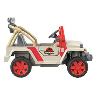 Jurassic Park Jeep Wrangler Ride-On Vehicle by Fisher-Price Power Wheels