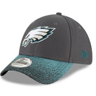 Adult New Era Philadelphia Eagles Visor Blur 39THIRTY Flex-Fit Cap