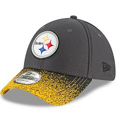Adult New Era Pittsburgh Steelers Visor Blur 39THIRTY Flex-Fit Cap
