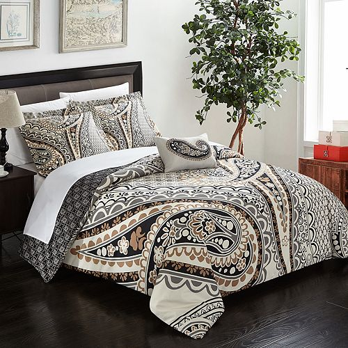 Soliel 4-piece Duvet Cover Set