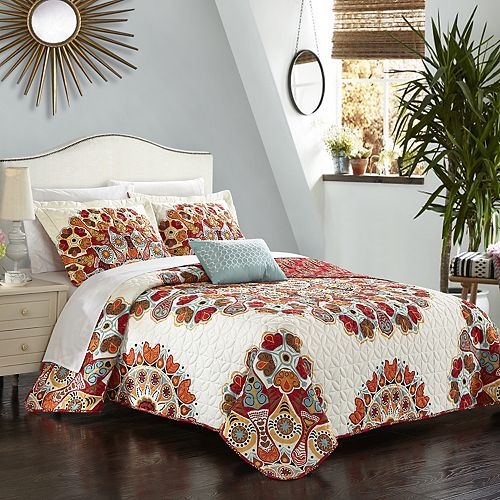 Rouen 8-piece Quilt Bedding Set