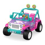 Nickelodeon Shimmer and Shine  Ride-On Vehicle by Fisher-Price Power Wheels