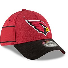Adult New Era Arizona Cardinals Sideline Home Official 39THIRTY Flex-Fit Cap