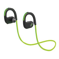 iHome LED Water-Resistant Bluetooth Behind-the-Neck Sport Earphones