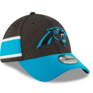 Adult New Era Carolina Panthers Sideline Home Official 39THIRTY Flex-Fit Cap