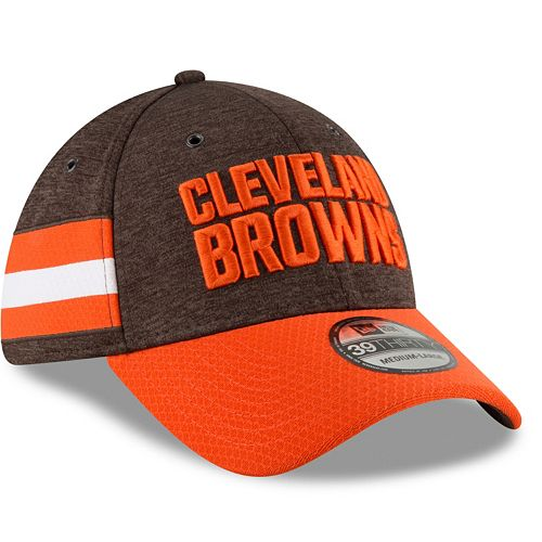 Adult New Era Cleveland Browns Sideline Home Official 39THIRTY Flex-Fit Cap d2b93d939d42
