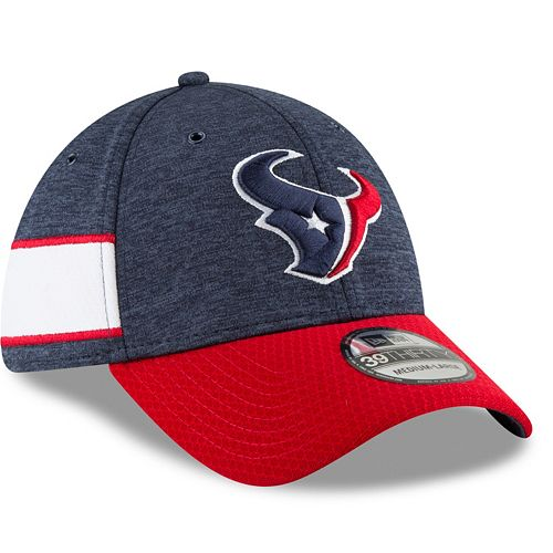 Adult New Era Houston Texans Sideline Home Official 39THIRTY Flex-Fit Cap