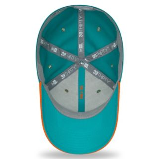 Adult New Era Miami Dolphins Sideline Home Official 39THIRTY Flex-Fit Cap