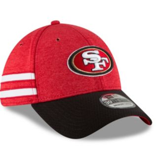 Adult New Era San Francisco 49ers Sideline Home Official 39THIRTY Flex-Fit Cap