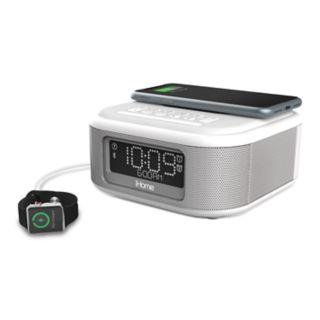 iHome Bluetooth Stereo Dual Alarm Clock with Speakerphone