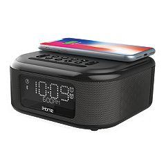 iHome Bluetooth Stereo Dual Alarm Clock with Speakerphone