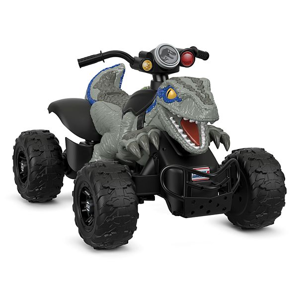 Jurassic World Dino Racer Ride On Vehicle By Fisher Price Power Wheels