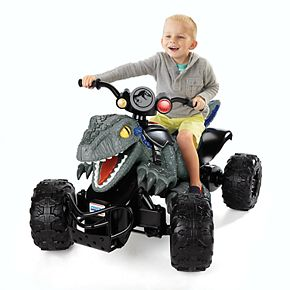 Jurassic World Dino Racer Ride-On Vehicle by Fisher-Price Power Wheels