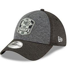 Adult New Era Kansas City Chiefs Sideline Road 39THIRTY Flex-Fit Cap