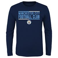 Boys 8-20 Manchester City FC International Soccer Tee