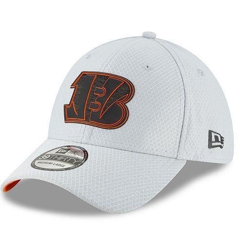 Adult New Era Cincinnati Bengals Training 39THIRTY Flex-Fit Cap