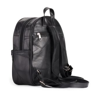 Stone & Co. Stitched Patchwork Leather Backpack