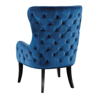 Linon Salem Tufted High Back Accent Chair