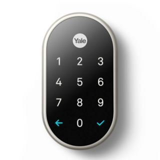 Nest x Yale - Lock (Satin Nickel) with Nest Connect