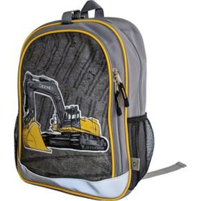 Kids John Deere Excavator Construction Backpack