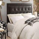 Linon Corie Tufted Queen Headboard