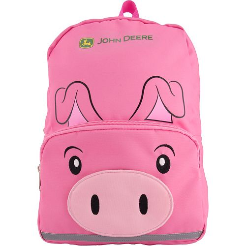 Toddler John Deere Pig Backpack
