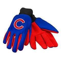 Forever Collectibles Chicago Cubs Utility Gloves