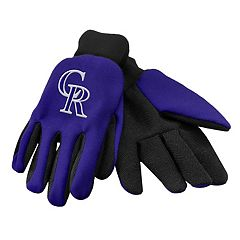Forever Collectibles Colorado Rockies Utility Gloves