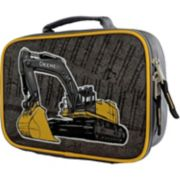 Kids John Deere Excavator Construction Insulated Lunchbox