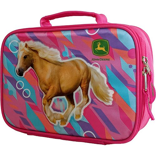 Kids John Deere Horse Insulated Lunchbox