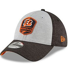 Adult New Era Cincinnati Bengals Sideline Team 39THIRTY Flex-Fit Cap