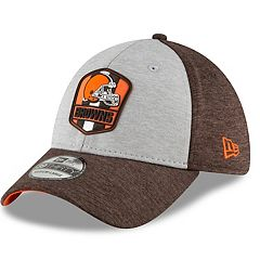 Adult New Era Cleveland Browns Sideline Team 39THIRTY Flex-Fit Cap