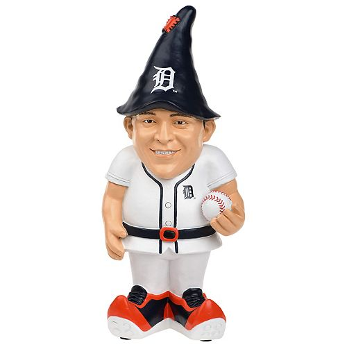 Forever Collectibles Detroit Tigers Miguel Cabrera Resin Player Gnome