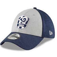 Adult New Era Los Angeles Rams Sideline Team 39THIRTY Flex-Fit Cap