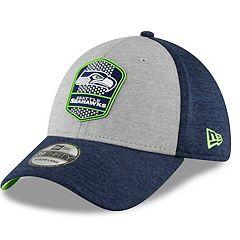 Adult New Era Seattle Seahawks 39THIRTY Sideline Flex-Fit Cap
