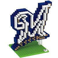 Forever Collectibles Milwaukee Brewers BRXLZ 3D Team Logo Puzzle Set