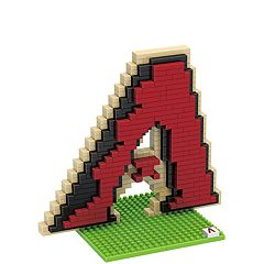 Forever Collectibles Arizona Diamondbacks BRXLZ 3D Team Logo Puzzle Set