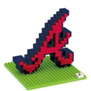 Forever Collectibles Atlanta Braves BRXLZ 3D Team Logo Puzzle Set