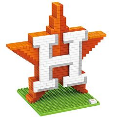 Forever Collectibles Houston Astros BRXLZ 3D Team Logo Puzzle Set