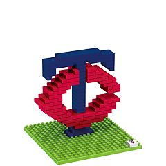 Forever Collectibles Minnesota Twins BRXLZ 3D Team Logo Puzzle Set