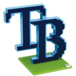 Forever Collectibles Tampa Bay Rays BRXLZ 3D Team Logo Puzzle Set