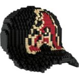 Forever Collectibles Arizona Diamondbacks BRXLZ 3D Baseball Cap Puzzle Set