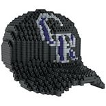 Forever Collectibles Colorado Rockies BRXLZ 3D Baseball Cap Puzzle Set