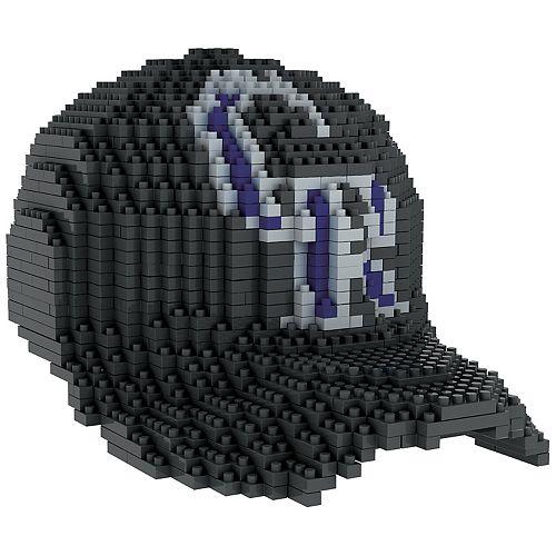 Forever Collectibles Colorado Rockies BRXLZ 3D Baseball Cap Puzzle Set