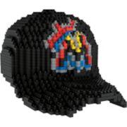 Forever Collectibles Miami Marlins BRXLZ 3D Baseball Cap Puzzle Set